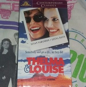 News 1991 Thelma & Louise Vhs Movie 90s Vintage